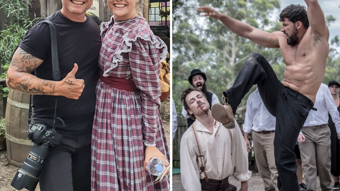 Soapie dreams are made of this! The best behind-the-scenes photos from the Sherbrooke Down film