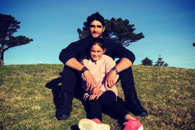 Inside Home And Away star Ethan Browne's sweet bond with his teen daughter Aaylah