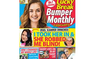 Lucky Break Bumper Monthly February Issue Online Entry