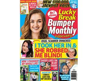 Lucky Break Bumper Monthly February Issue Online Entry