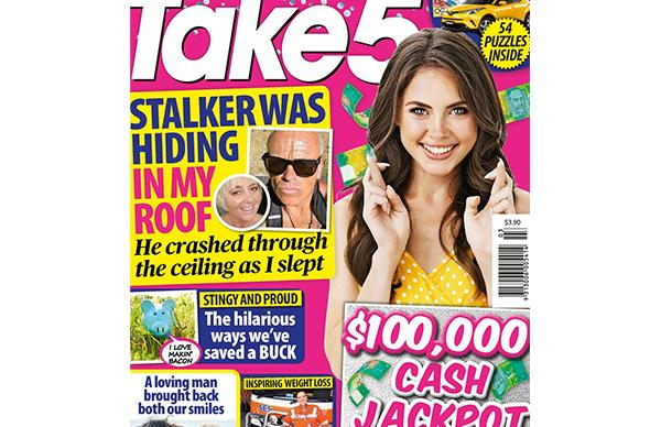Take 5 Issue 3 Online Entry Coupon