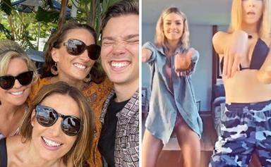 You know they belong together, even when the cameras stop rolling! Real-life Home And Away besties