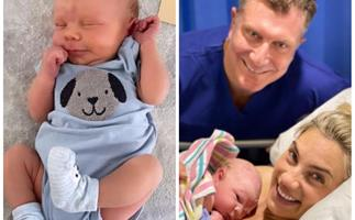 The Wiggles' Simon Pryce shares an adorable new picture of his one week old son, Asher