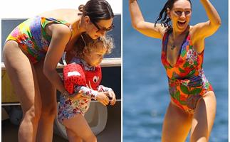 Living her best Sydney life! Zoe Foster-Blake's family day with her A-list pals aboard a luxury yacht