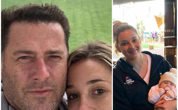 EXCLUSIVE: Karl Stefanovic leaves wife Jasmine as he returns to work in Sydney