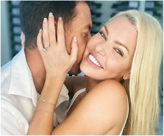 The deal is sealed! Sophie Monk announces she's ENGAGED to partner Joshua Gross