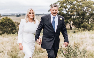 Sam Armytage shares stunning new wedding photos as she reveals she planned her whirlwind nuptials in THREE days