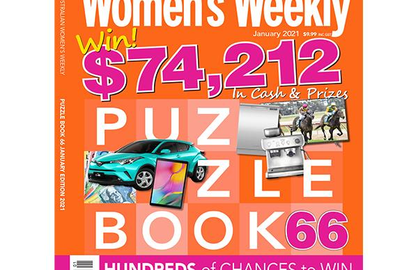 The Australian Women's Weekly Puzzle Book Issue 66