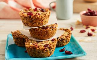 Recipe: museli cups with oats and Craisins®