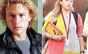 IN PICS: Matilda Ledger is the spitting image of her late father, Heath Ledger
