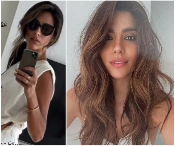 Crisp, content: Pia Miller's latest outfit pic basically sums up our style inspo for the rest of summer