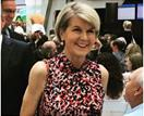 Julie Bishop shares a striking throwback picture with Joe Biden with a message of hope