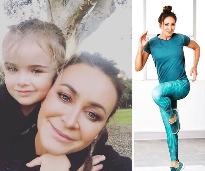 """EXCLUSIVE: """"My biggest reason for keeping up my fitness is for my son!"""" Michelle Bridges reveals why Axel is her ultimate inspiration"""