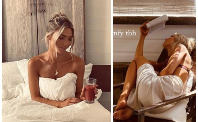 Sam Frost's dreamy holiday pics have even got her co-stars envious - for a good reason