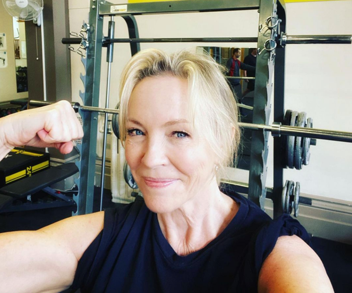 Rebecca Gibney shows off her dramatic body transformation in incredible before-and-after photos