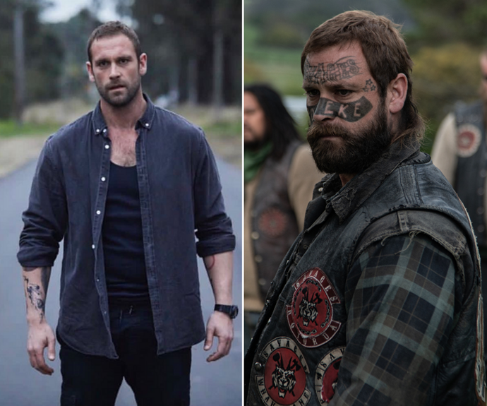 Former Home And Away star Jake Ryan's latest film just dropped on Stan and he looks unrecognisable