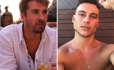 Meet the man actor Hugh Sheridan is rumoured to be dating after being spotted getting cosy at the beach