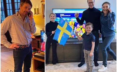 The royal crossover we never knew we needed: The Danish and Swedish royals show off their friendly rivalry in new photo