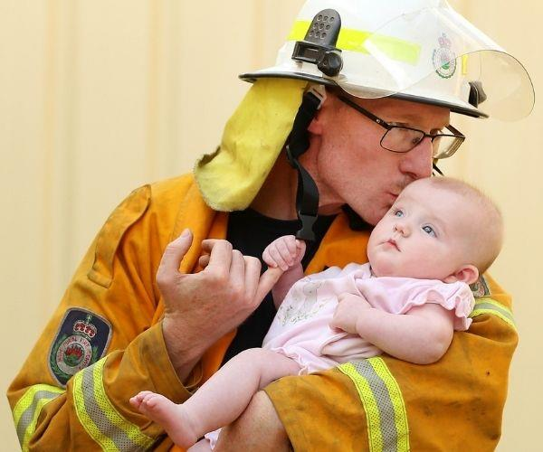 REAL LIFE: Meet the brave dad fighting fires while he battled cancer