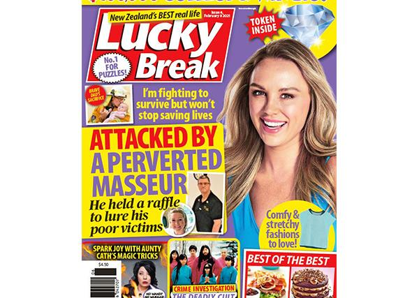 Lucky Break Issue 6 Entry Coupon