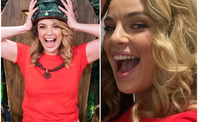 """EXCLUSIVE: """"He put money on me to win"""": I'm A Celeb winner Abbie Chatfield reveals the unexpected person who was betting on her behind the scenes"""