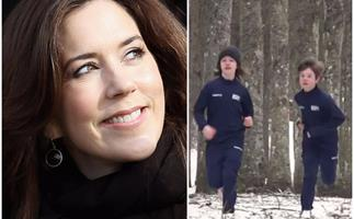 The Danish royal twins are looking more and more like their parents in rare new family footage released by the Palace