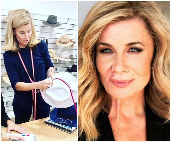 Deborah Hutton surprises fans with a new fashion line, sparked in the wake of her skin cancer surgery