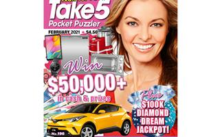 Take 5 Pocket Puzzler Issue 198 Online Entry Coupon