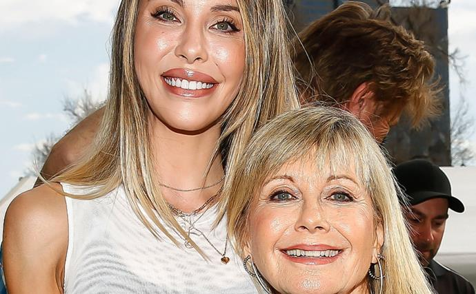 """""""We saved each other's lives"""": After years of ups and downs, Olivia Newton-John and Chloe Lattanzi exclusively discuss their unbreakable bond"""