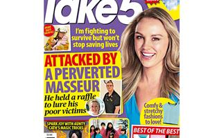 Take 5 Issue 6 Online Entry Coupon