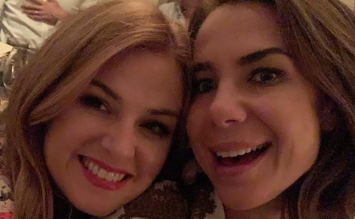 Kate Ritchie and Isla Fisher just shared the sweetest photo of their reunion over 20 years on from Home & Away