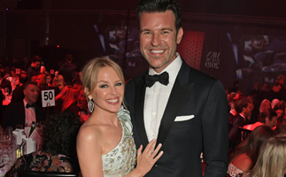 """""""I'm thrilled!"""": Kylie Minogue is reportedly engaged to boyfriend Paul Solomons"""