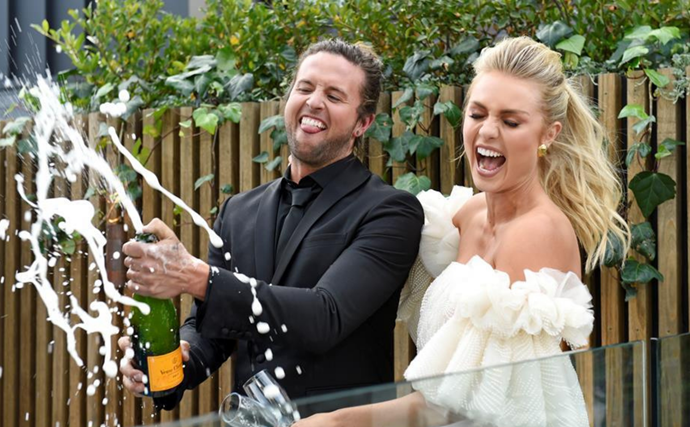 The Block's Josh & Elyse just quietly revealed they've been ENGAGED for weeks