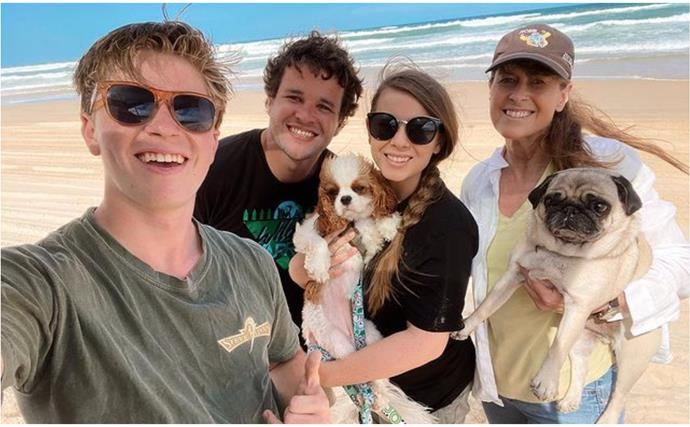 Pregnant Bindi Irwin shares a special moment with her nearest and dearest as she prepares to welcome her baby girl