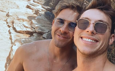 Hugh Sheridan has confirmed his new romance in one short but oh-so-sweet statement