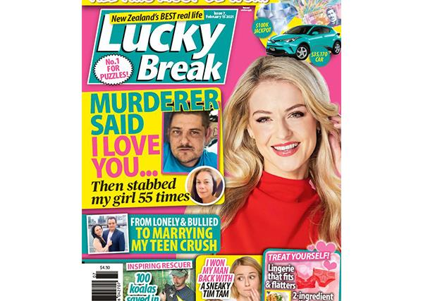 Lucky Break Issue 7 Entry Coupon