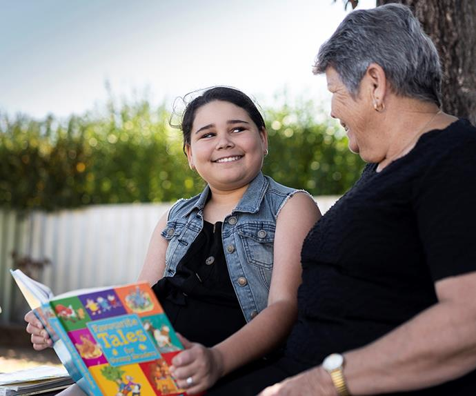 REAL LIFE: How the kindness of strangers helped one girl learn to love reading, and so much more