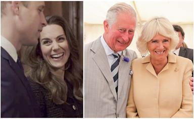 """One is """"sceptical"""", the other """"worships"""": A body language expert weighs in on what royal couples are really thinking about each other"""