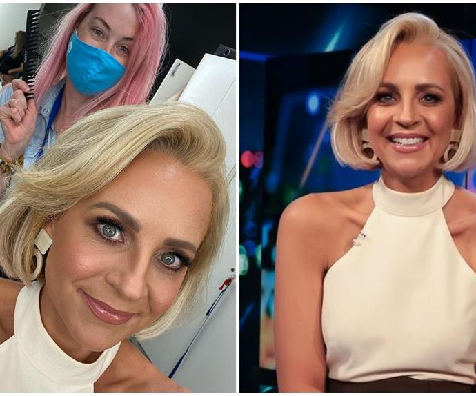 Carrie Bickmore's relatable parenting woe is remedied by a very simple beauty hack
