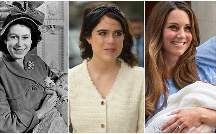 "From a room packed with ""witnesses"" to COVID-friendly procedures: These are the fascinating ways royal births have changed throughout the years"