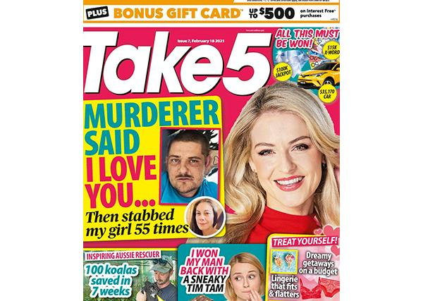Take 5 Issue 7 Online Entry Coupon