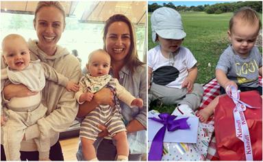 Work-wives Sylvia Jeffreys & Jayne Azzopardi swap TV duties for mum duties with a cute playdate
