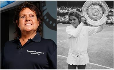 50 years after her first Wimbledon win, Australian sporting hero Evonne Goolagong Cawley recounts the dizzying highs of life on the international tennis circuit