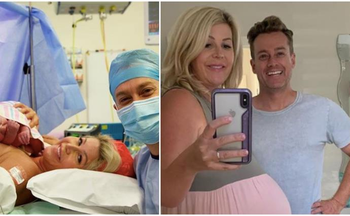 CONGRATS! Grant and Chezzi Denyer welcome their third child - a gorgeous baby girl!
