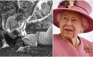 """""""Delighted"""": The Queen, Prince Charles and more royals share joy over Harry & Meghan's new royal baby"""