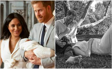 Duchess Meghan's stunning custom-made dress from her second pregnancy photoshoot paid a subtle-yet-special tribute to her first child, Archie
