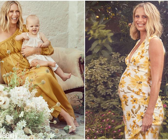 Sylvia Jeffreys' beautiful chaos: As she prepares to welcome her second son, Sylvia reveals why she's never been happier, both in life and marriage