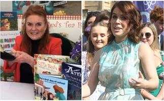 Sarah Ferguson may have just dropped a very un-subtle hint about Eugenie's newborn son's name