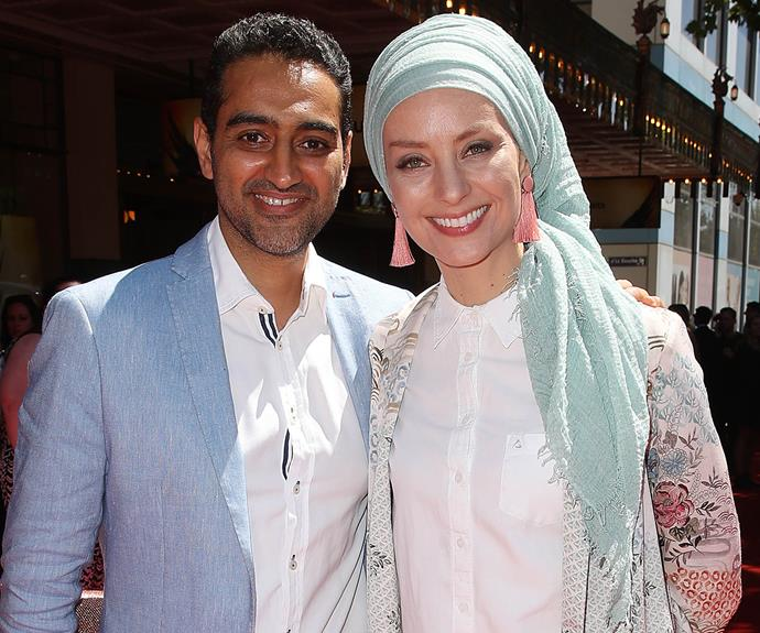 Susan Carland just shared the most glorious throwback of her and Waleed Aly's wedding