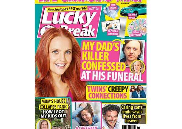 Lucky Break Issue 9 Entry Coupon